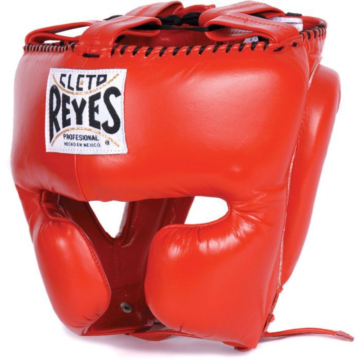 Cleto Reyes Headgear With Cheek Protection Red