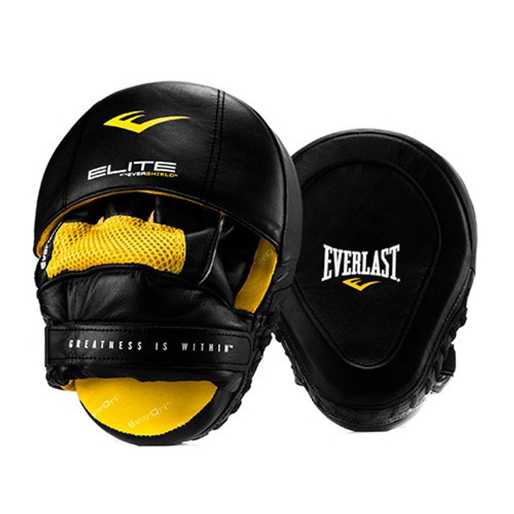 Everlast ELITE LEATHER MANTIS PUNCH MITTS