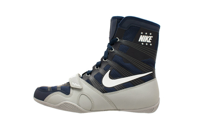 Nike HyperKO Limited Edition - Midnight Navy/White/Silver Boxing Shoes