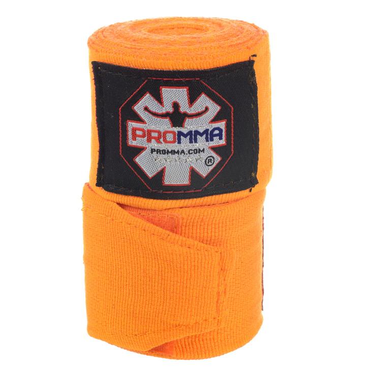 PRO MMA Elite Orange Hand Wraps