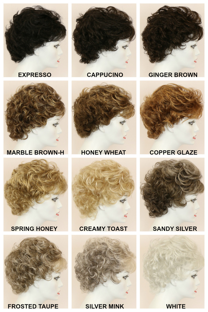 Color Chart / Tammy / Short Wig