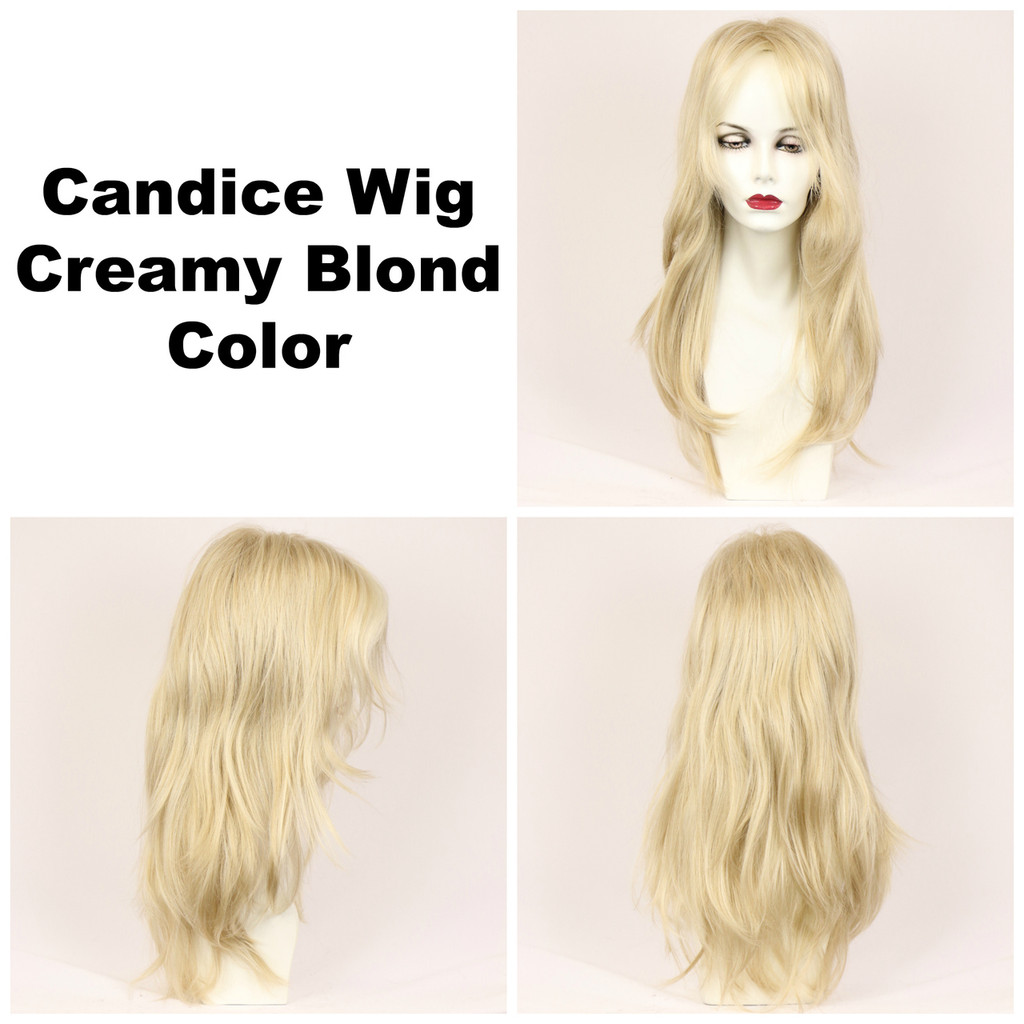 Creamy Blond / Candice / Long Wig