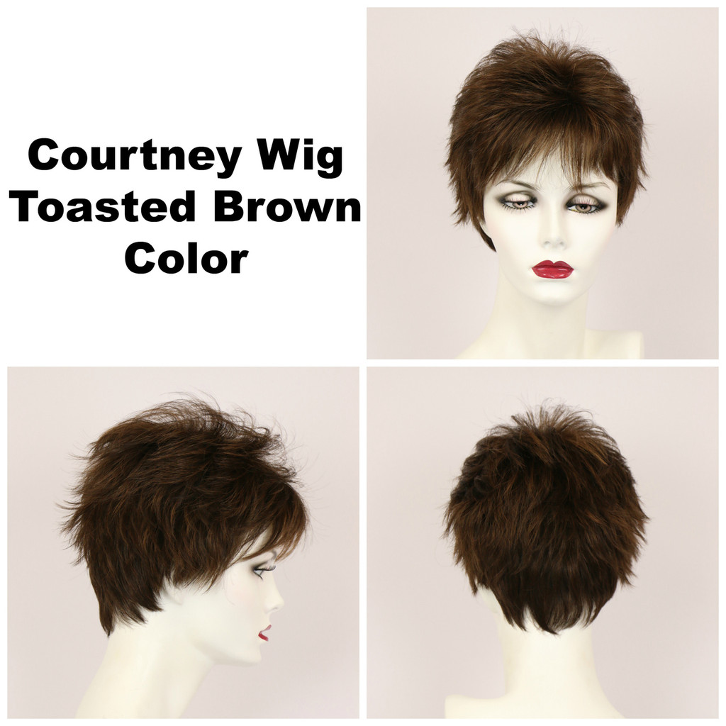 Toasted Brown / Courtney / Short Wig