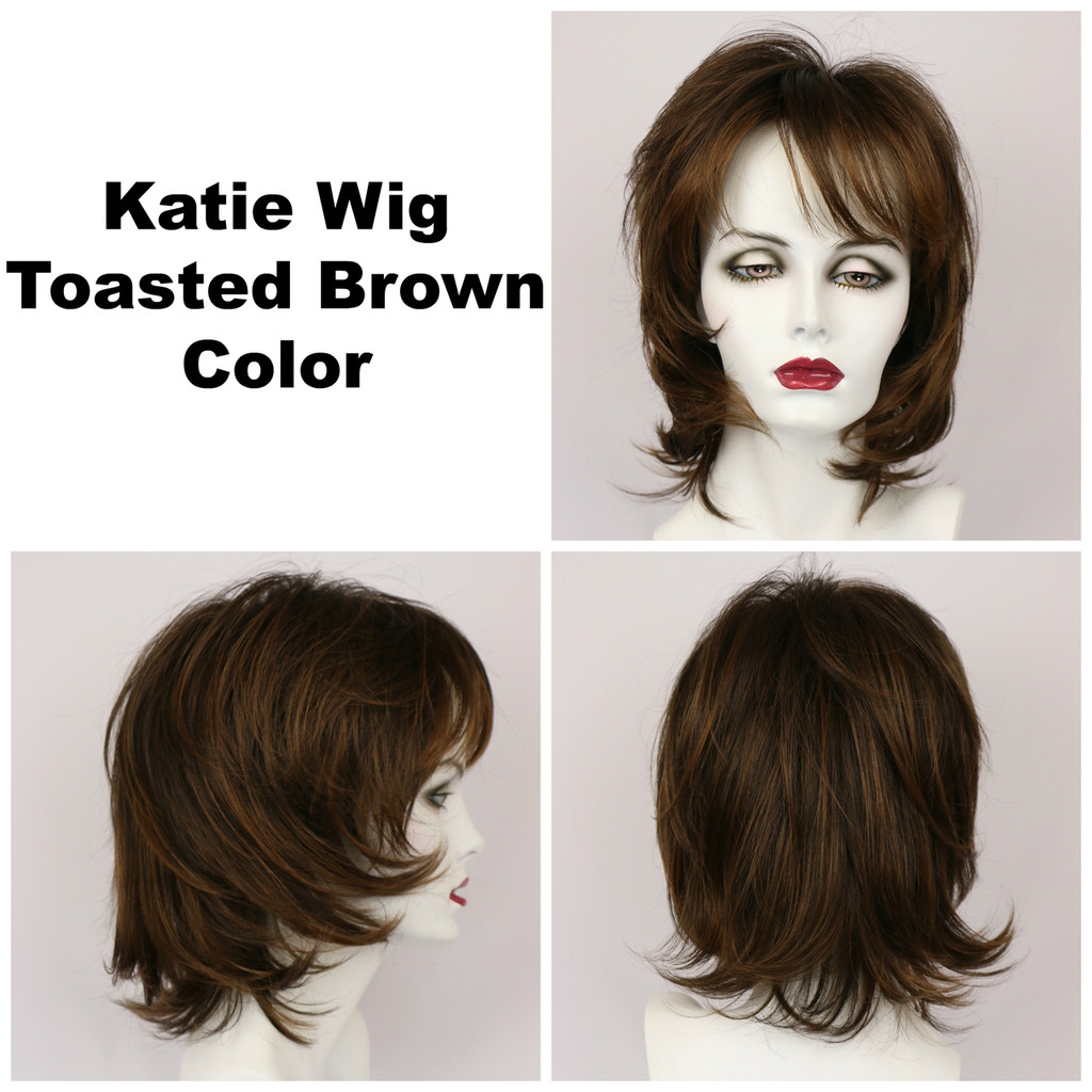 Toasted Brown / Katie / Medium Wig