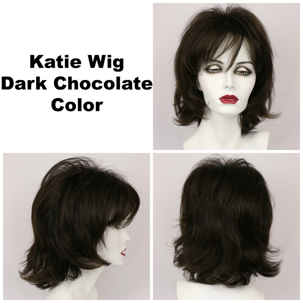 Dark Chocolate / Katie / Medium Wig