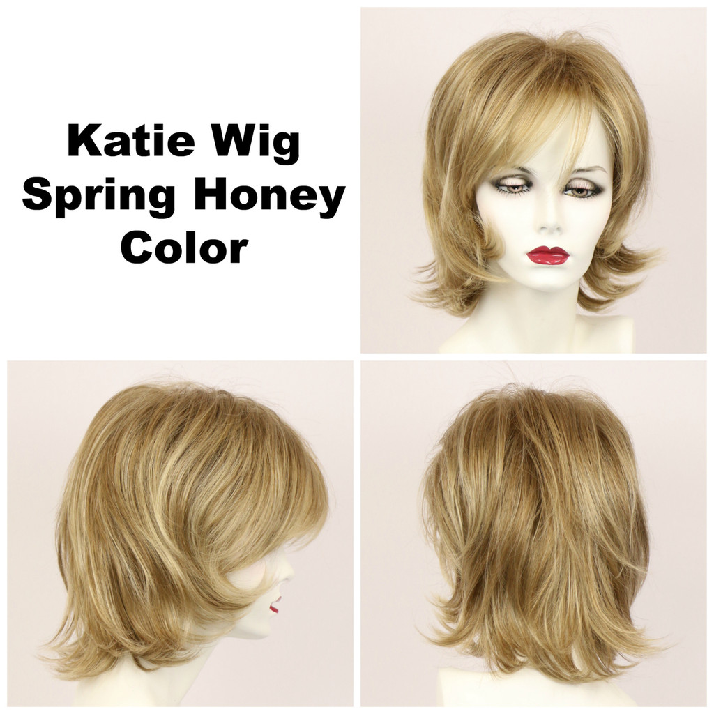 Spring Honey / Katie / Medium Wig