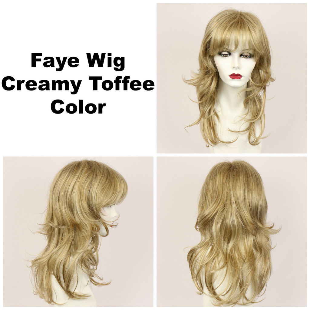 Creamy Toffee / Faye / Long Wig