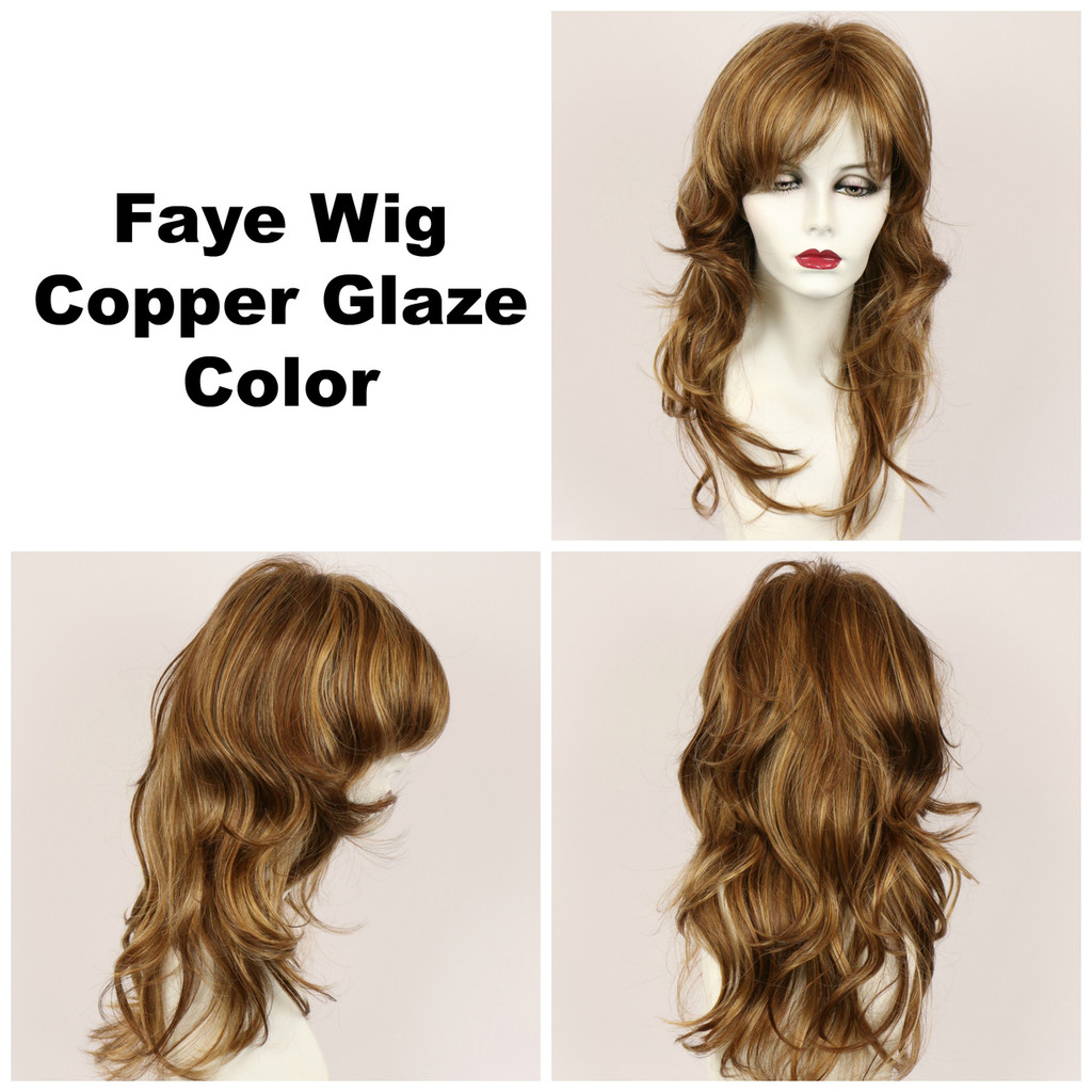 Copper Glaze / Faye / Long Wig