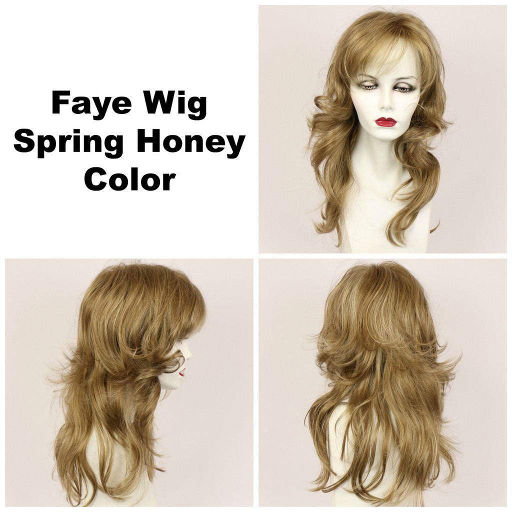 Spring Honey / Faye / Long Wig