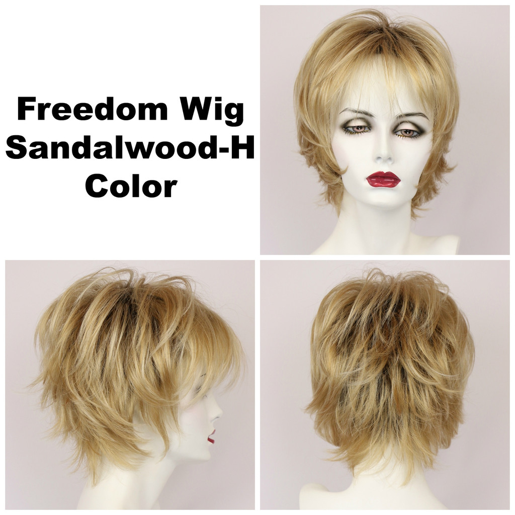 Sandalwood-H / Freedom w/ Roots / Medium Wig