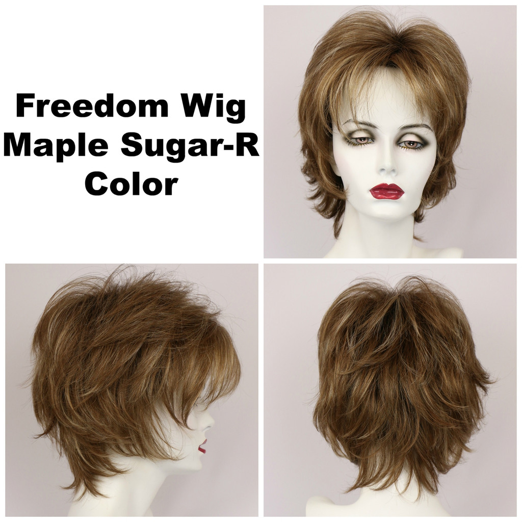 Maple Sugar-R / Freedom w/ Roots / Medium Wig