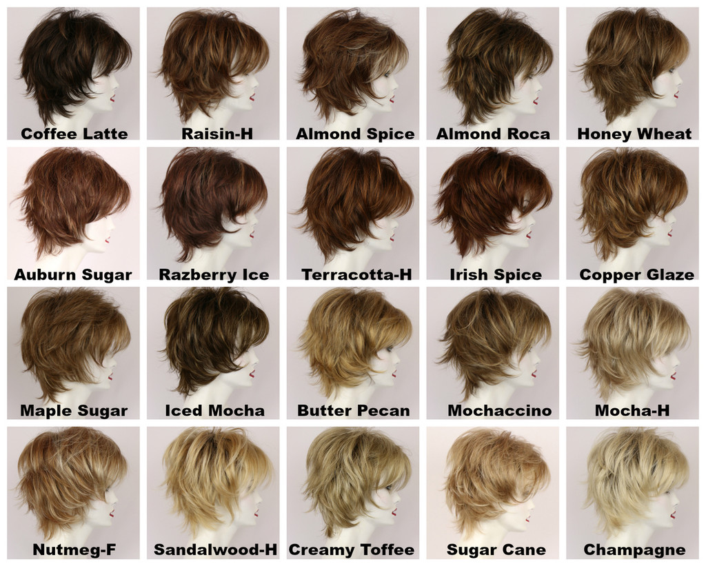 Freedom with Roots Wig Color Chart