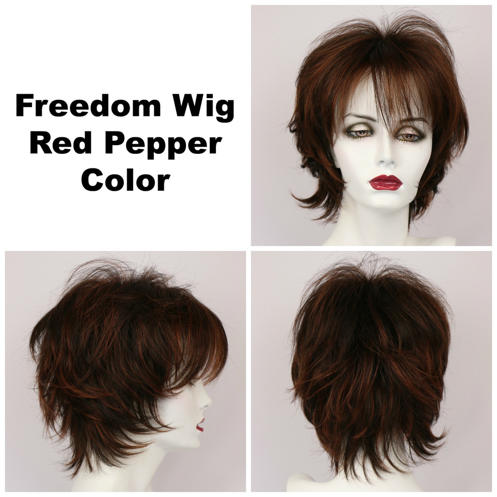 Red Pepper / Freedom / Medium Wig