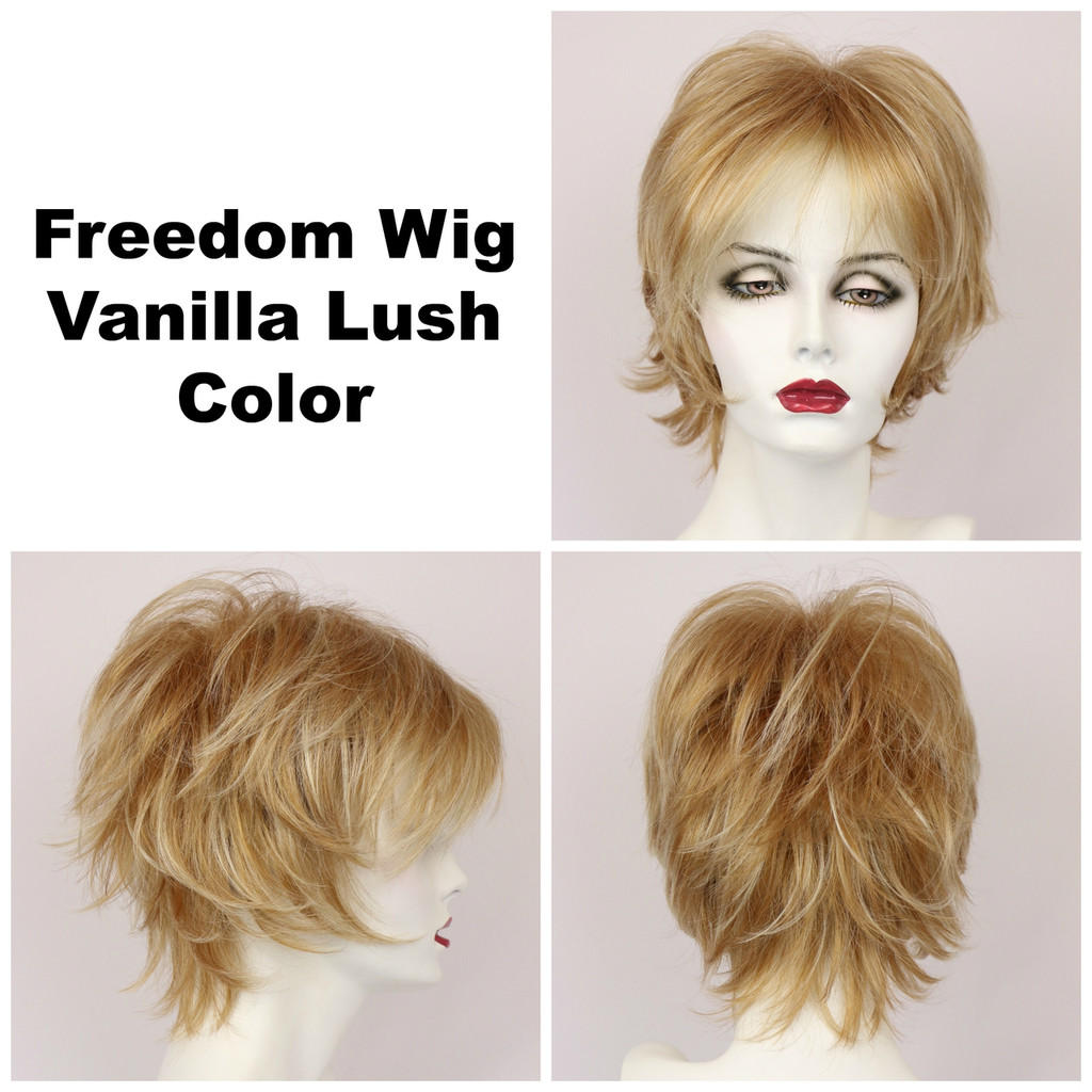 Vanilla Lush / Freedom / Medium Wig