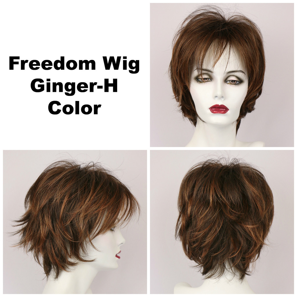 Ginger-H / Freedom / Medium Wig
