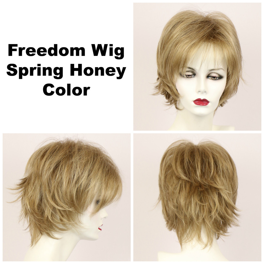 Spring Honey / Freedom / Medium Wig
