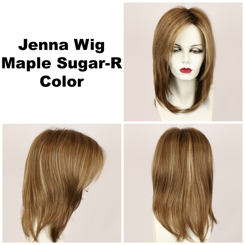 Maple Sugar-R / Jenna w/ Roots / Long Wig
