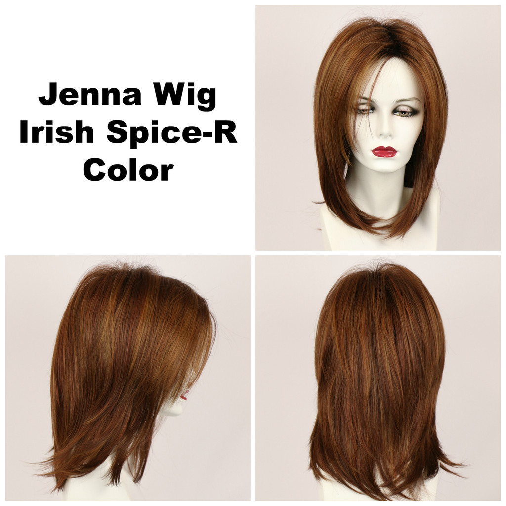 Irish Spice-R / Jenna w/ Roots / Long Wig