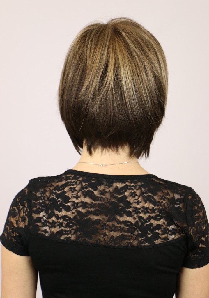 Chocolate Frost / Vicki Monofilament / Short Wig