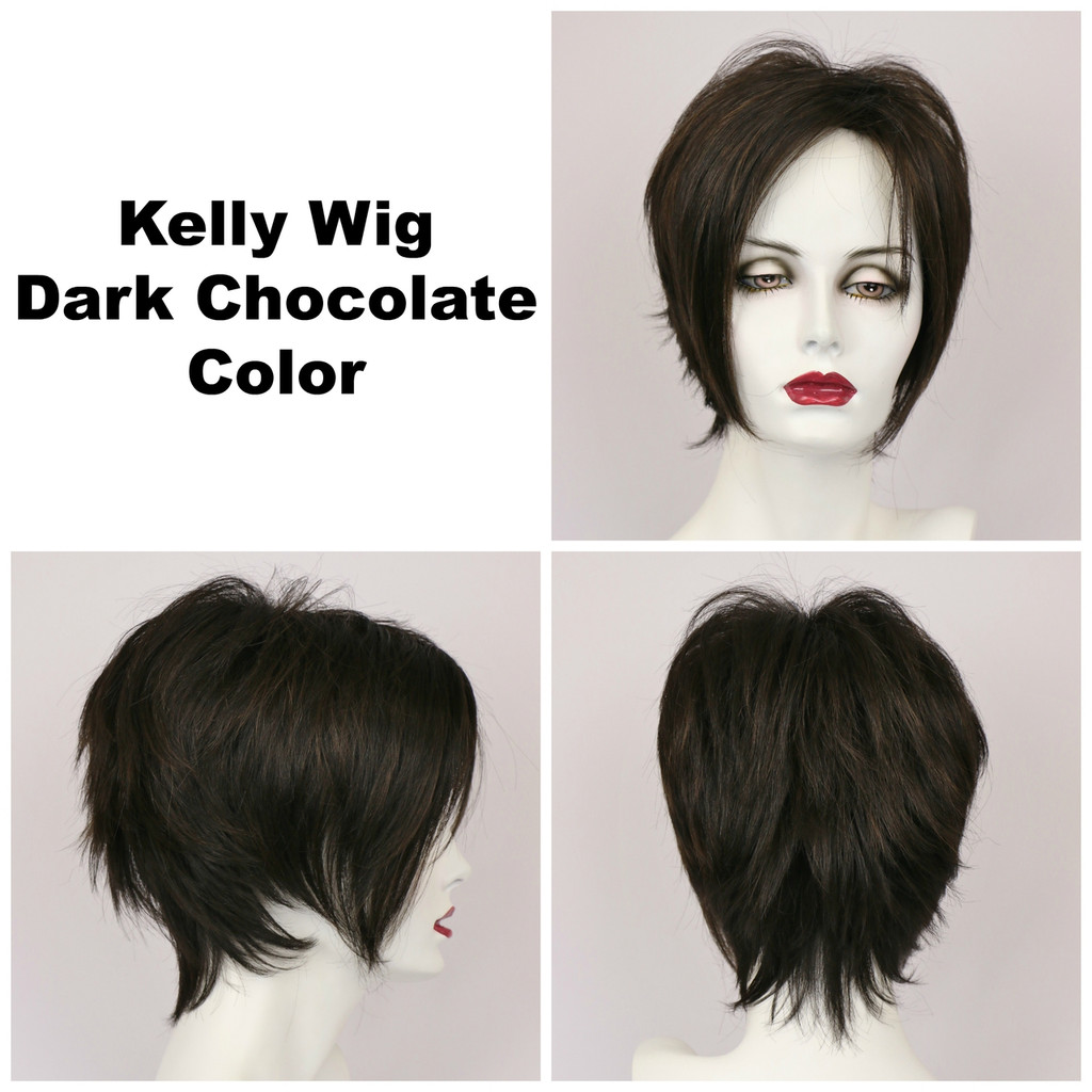 Dark Chocolate / Kelly / Short Wig