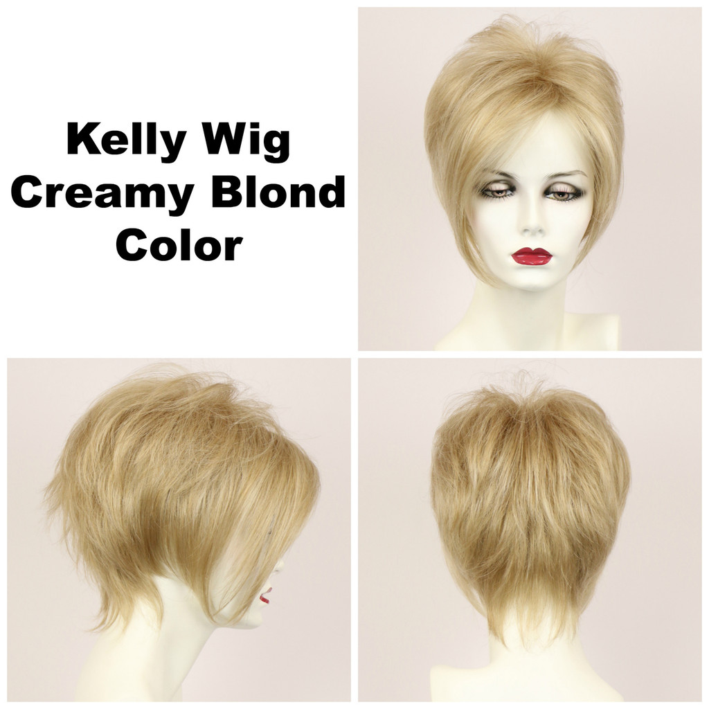 Creamy Blond / Kelly / Short Wig