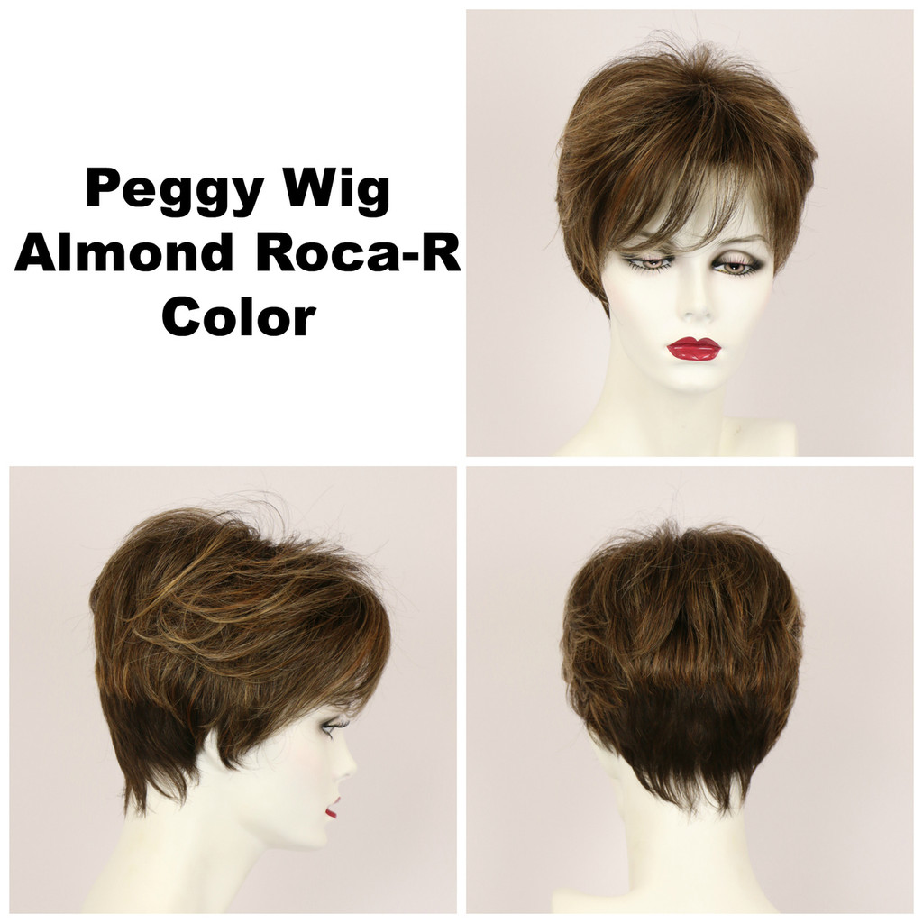 Almond Roca-R / Peggy w/ Roots / Short Wig