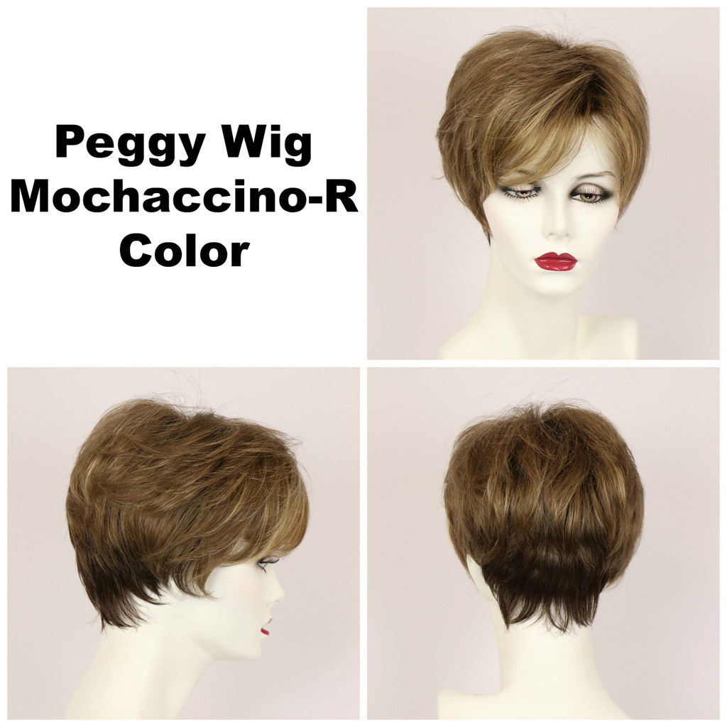 Mochaccino-R / Peggy w/ Roots / Short Wig