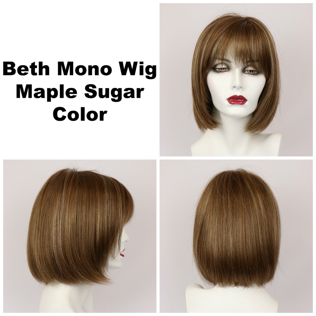Maple Sugar / Beth Monofilament / Medium Wig