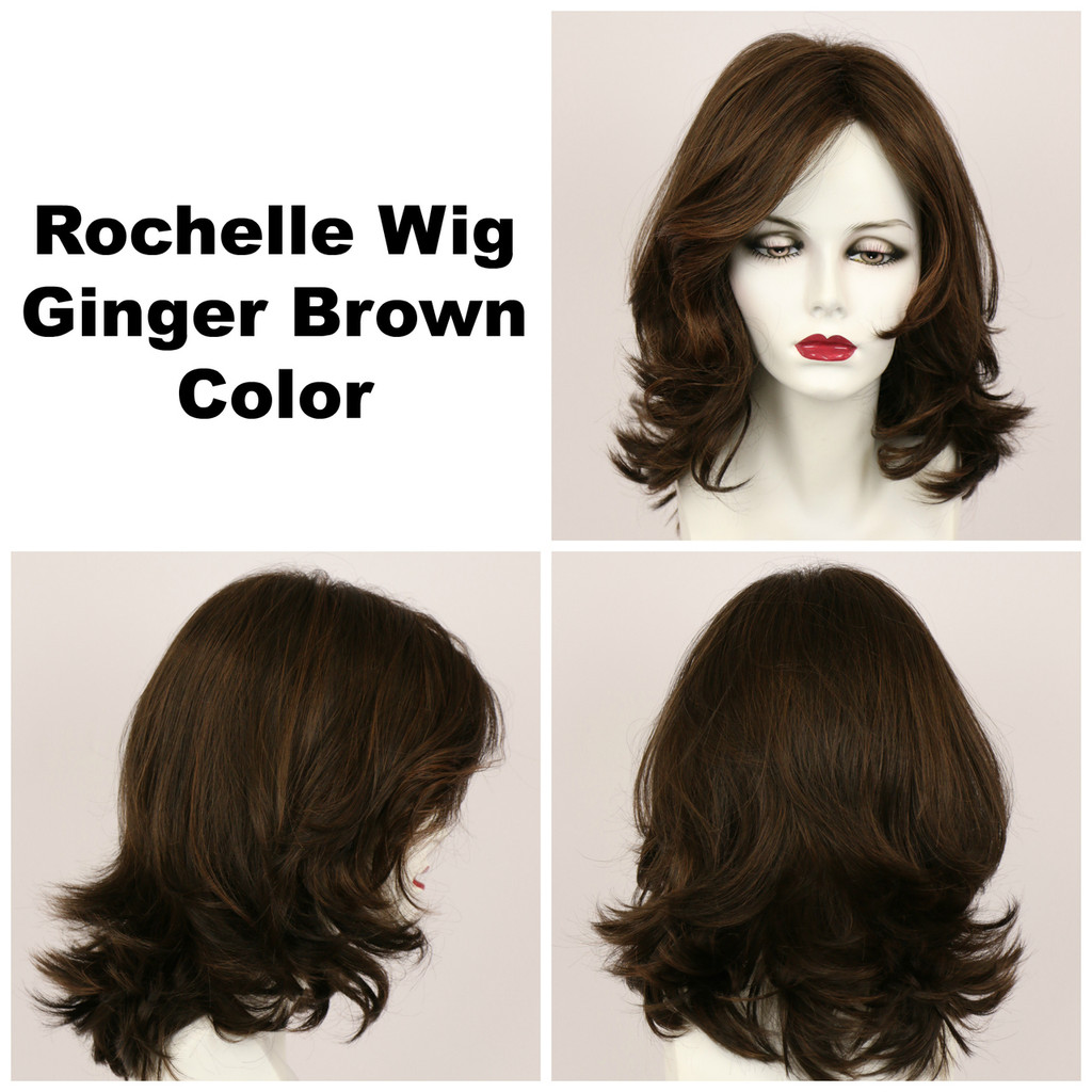 Ginger Brown / Rochelle / Long Wig