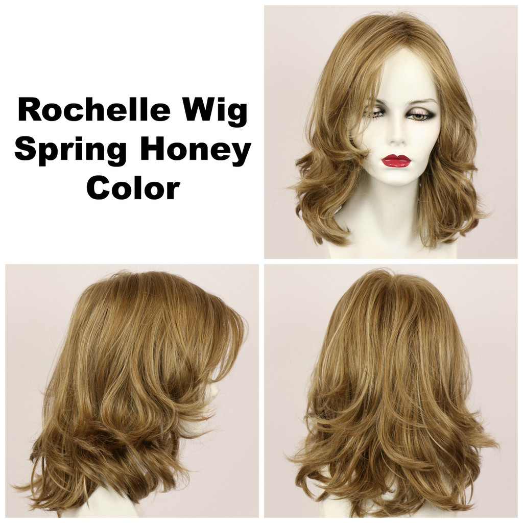 Spring Honey / Rochelle / Long Wig