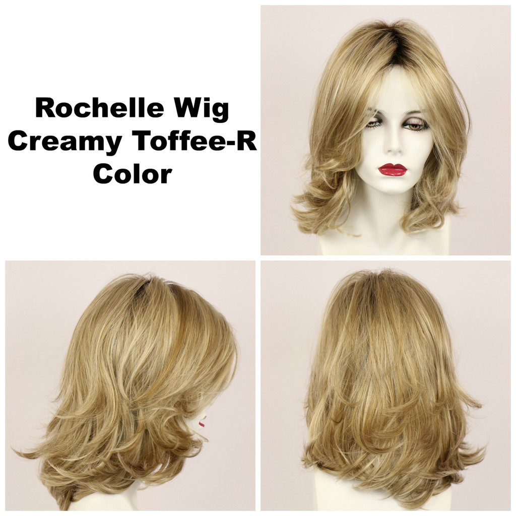 Creamy Toffee-R / Rochelle w/ Roots / Long Wig