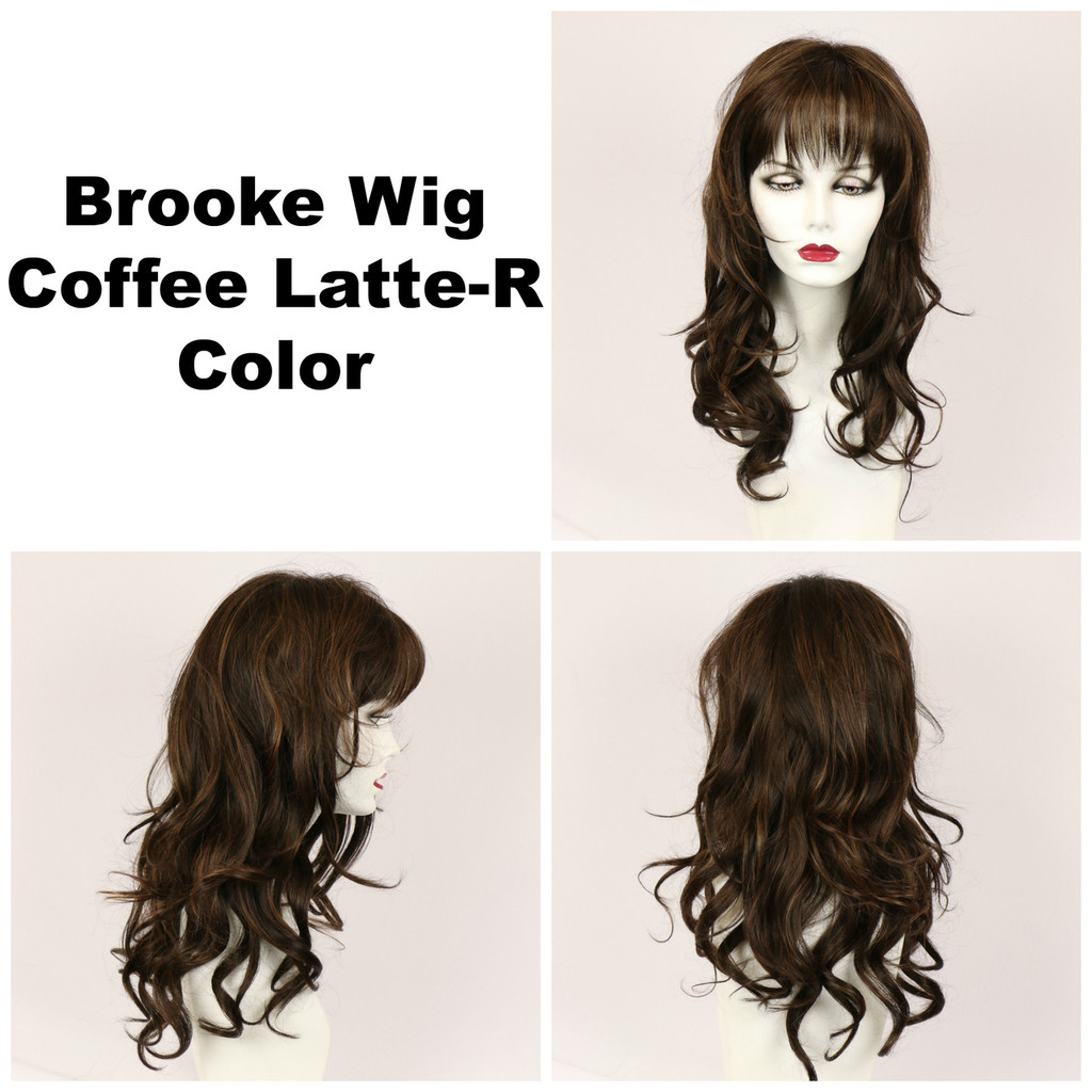 Coffee Latte-R / Brooke w/ Roots / Long Wig
