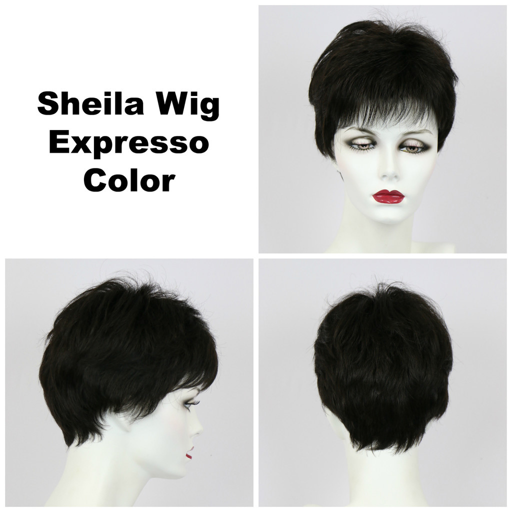 Expresso / Shelia / Short Wig