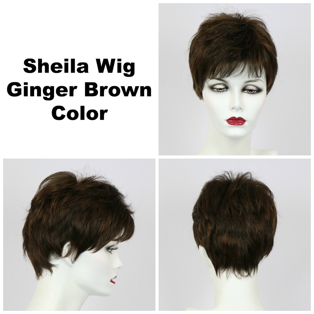 Ginger Brown / Shelia / Short Wig