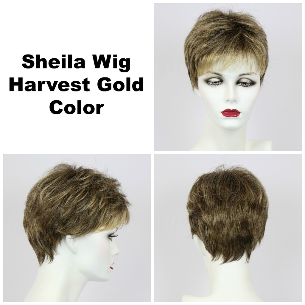 Harvest Gold / Shelia / Short Wig