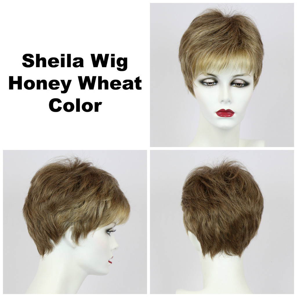 Honey Wheat / Shelia / Short Wig