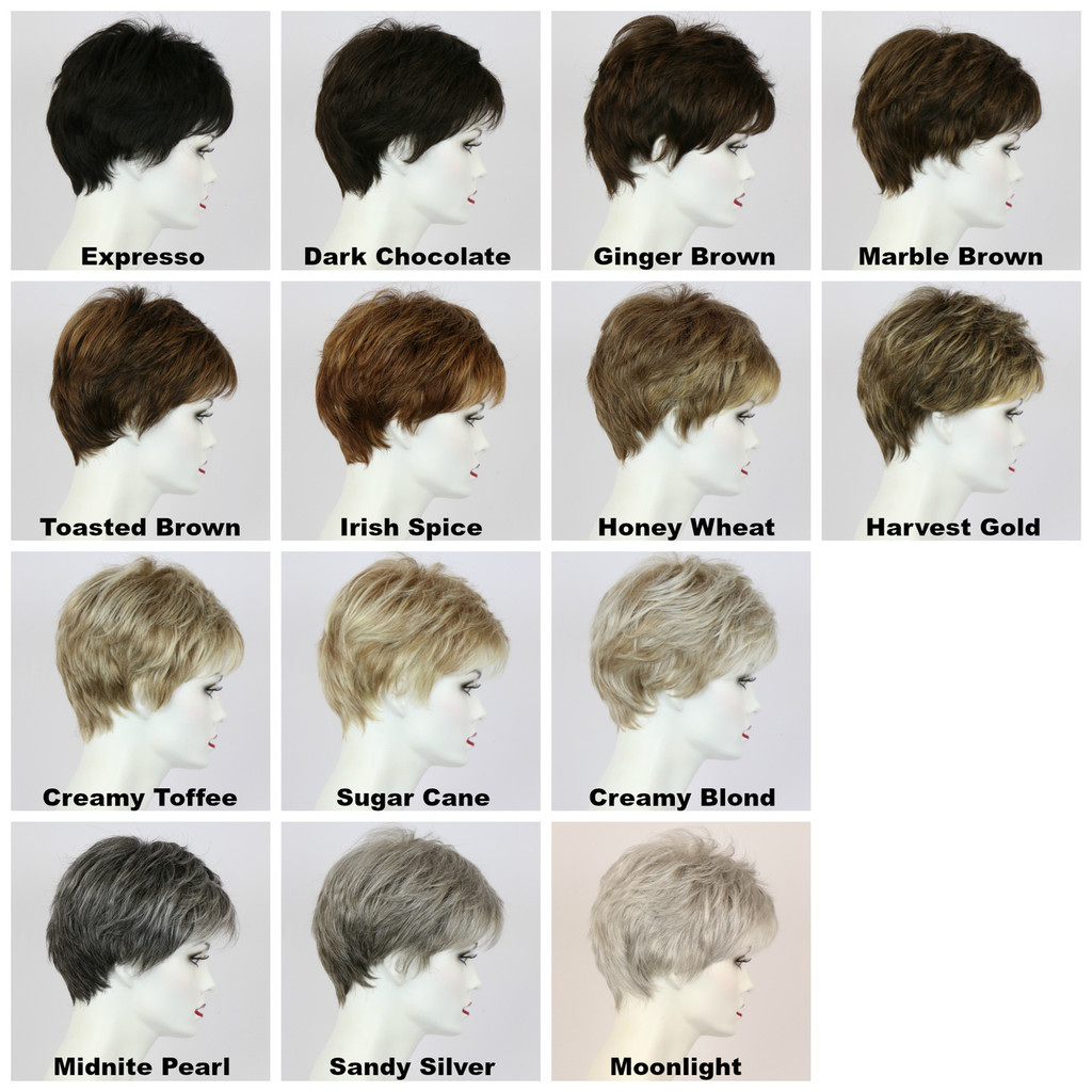 Color Chart / Shelia / Short Wig