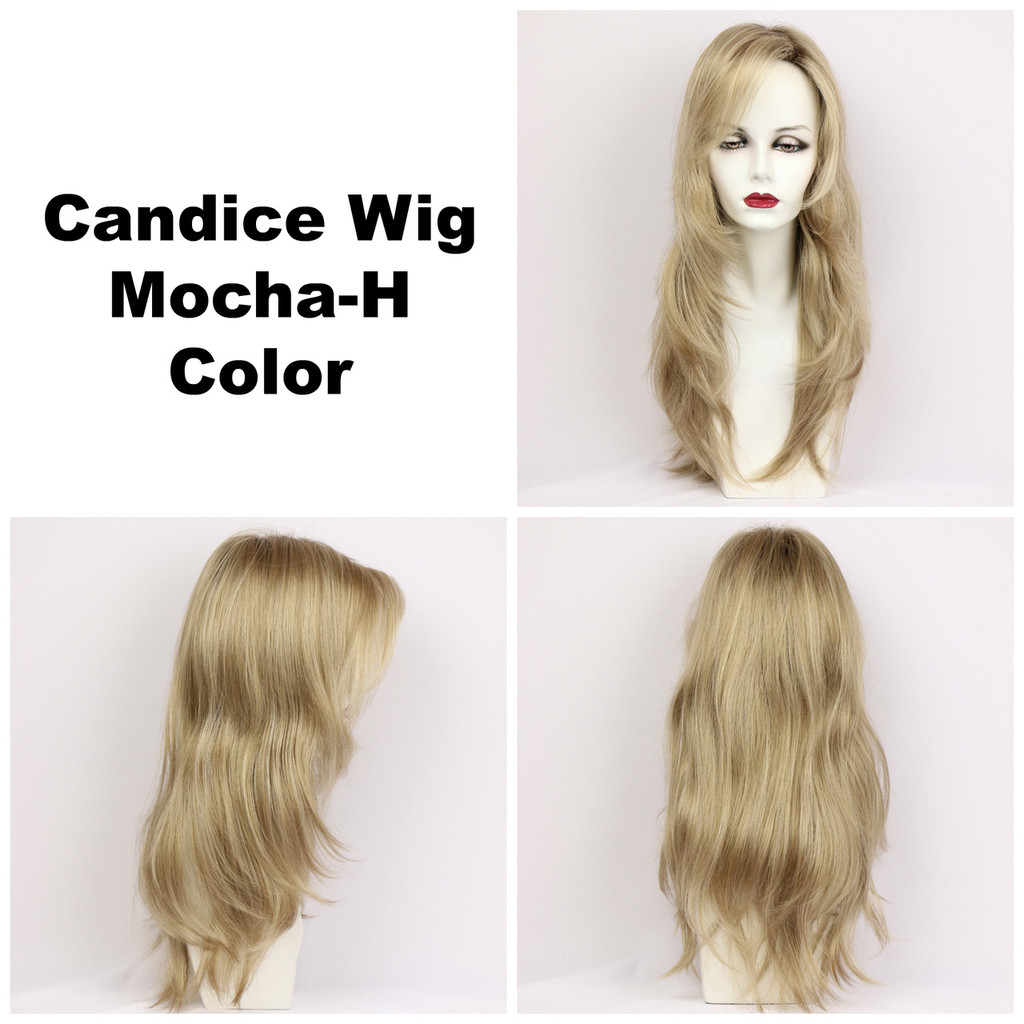 Candice w/Roots (long wig)
