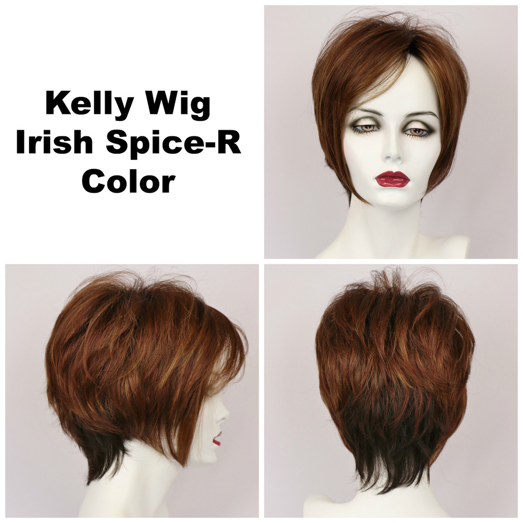 Kelly w/Roots (short wig)