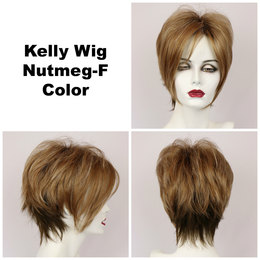 Nutmeg-F / Kelly w/ Roots / Short Wig