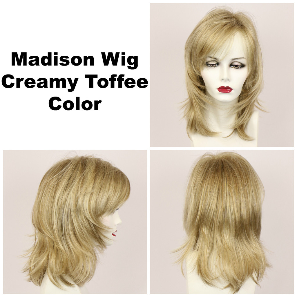 Creamy Toffee / Madison / Long Wig