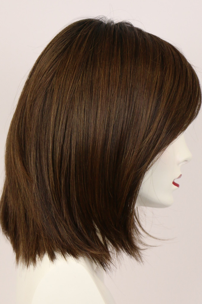 Chocolate Kiss / London / Brown Wig