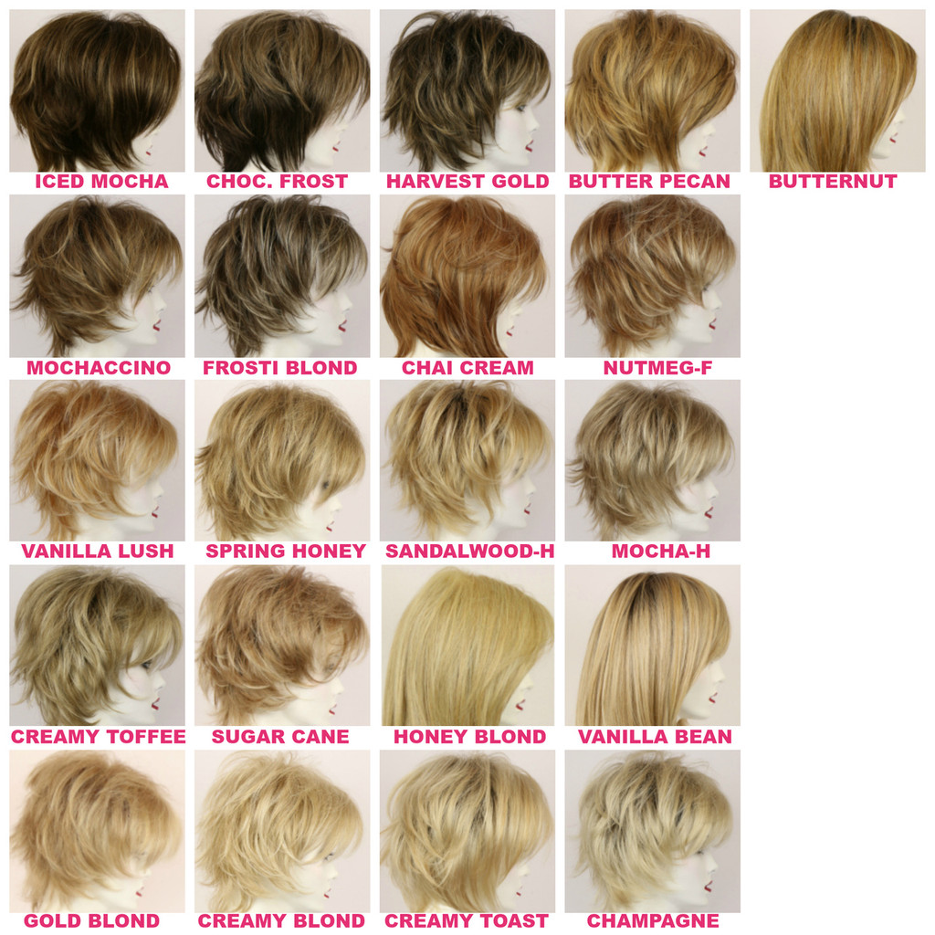 Color Swatches- Blond Colors