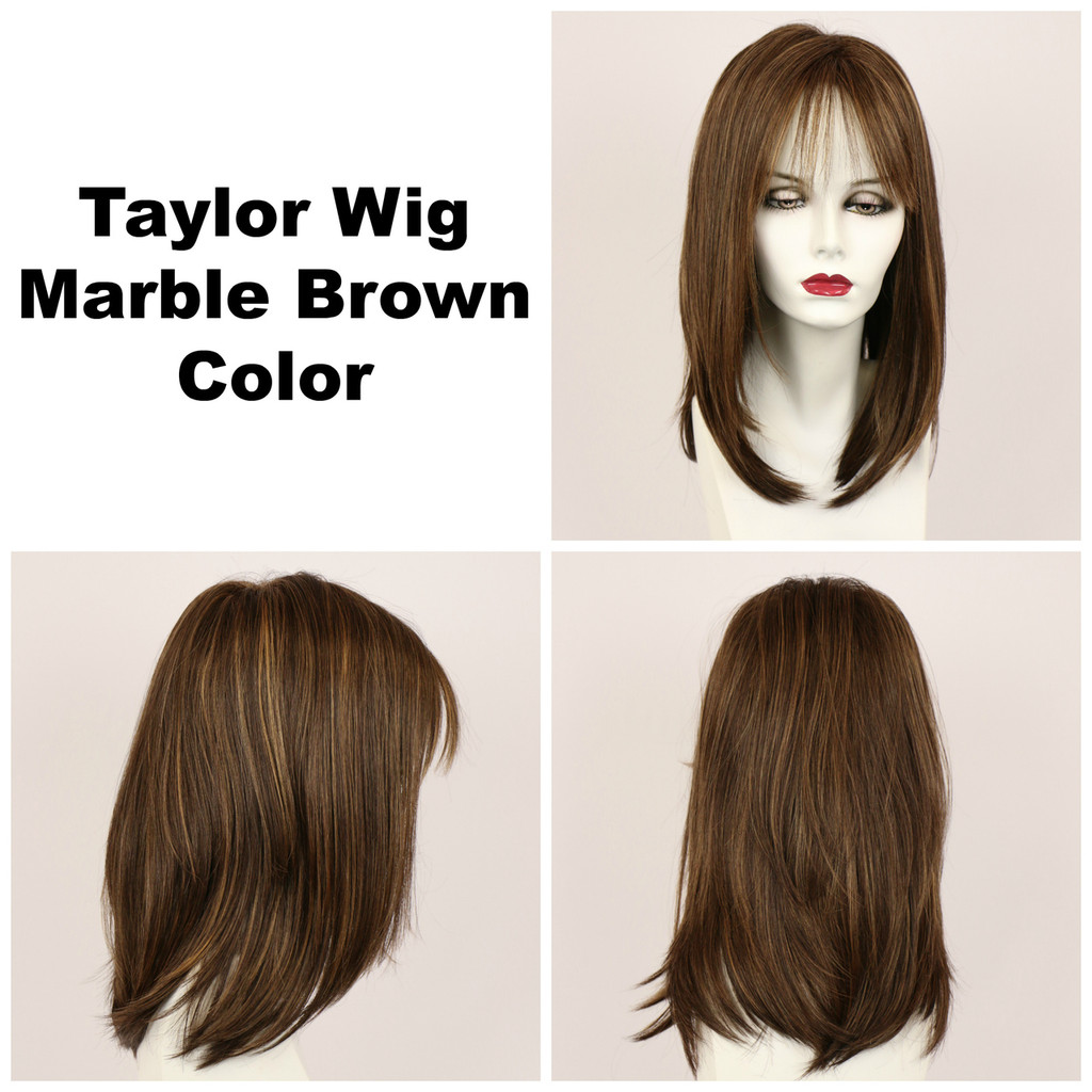 Marble Brown / Taylor / Long Wig