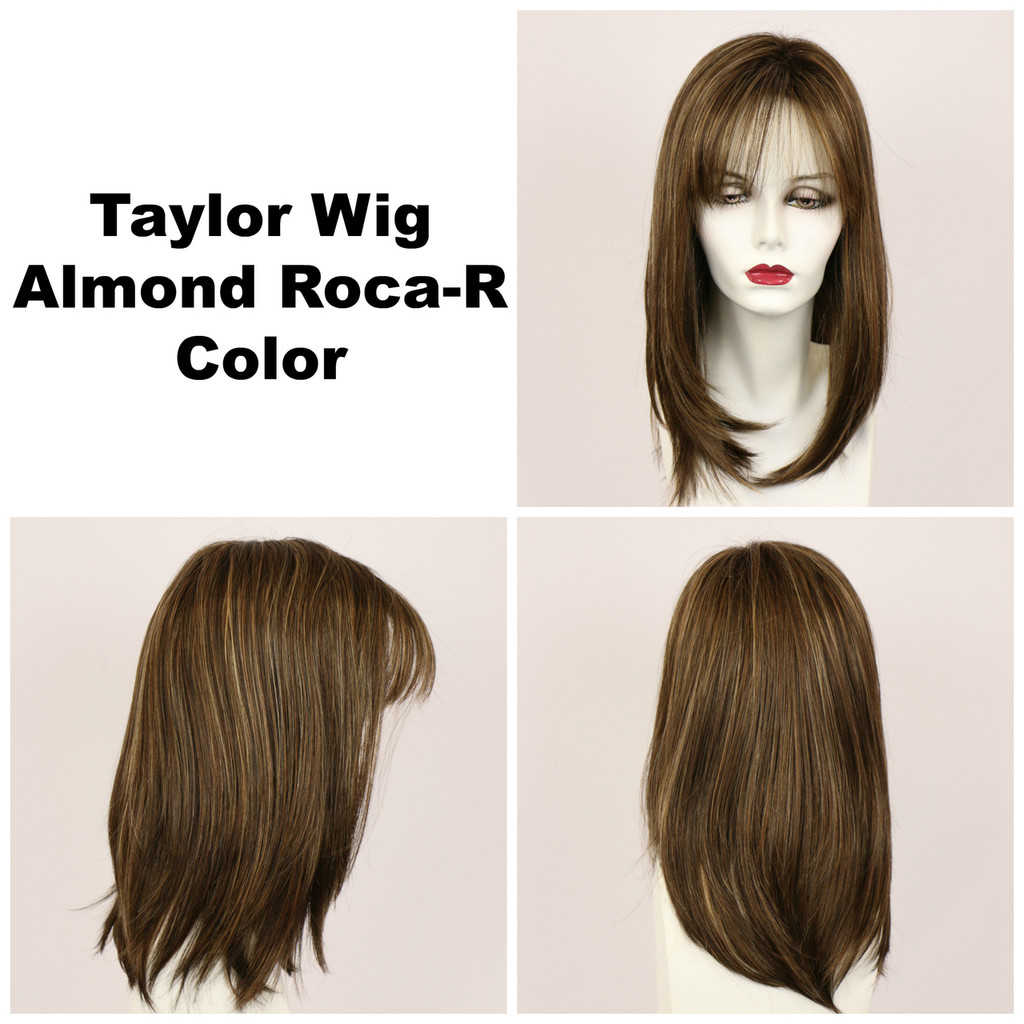 Almond Roca-R / Taylor w/ Roots / Long Wig