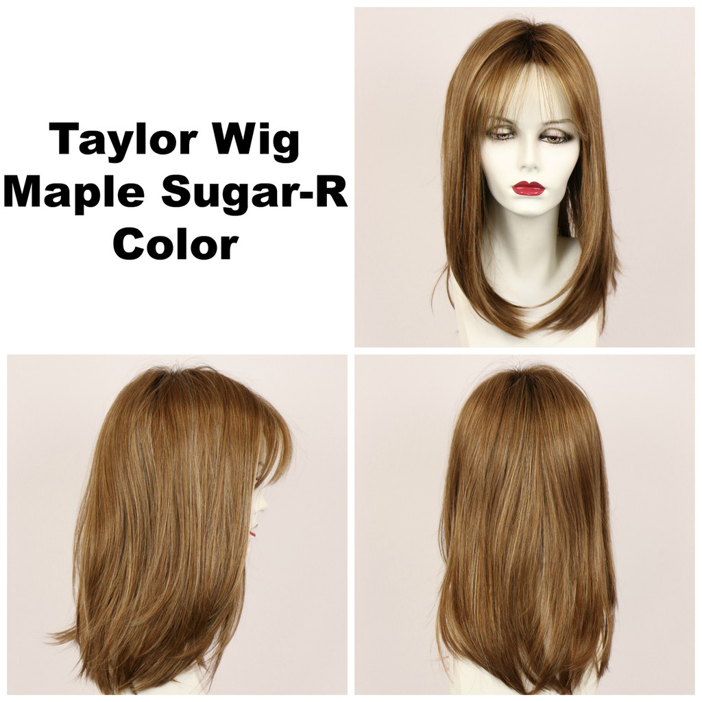 Maple Sugar-R / Taylor w/ Roots / Long Wig