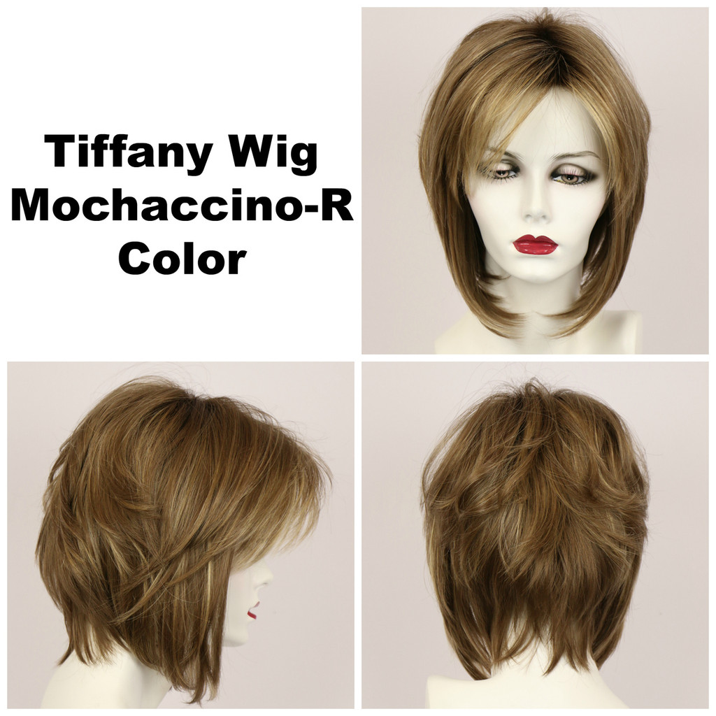 Mochaccino-R / Tiffany w/ Roots / Medium Wig
