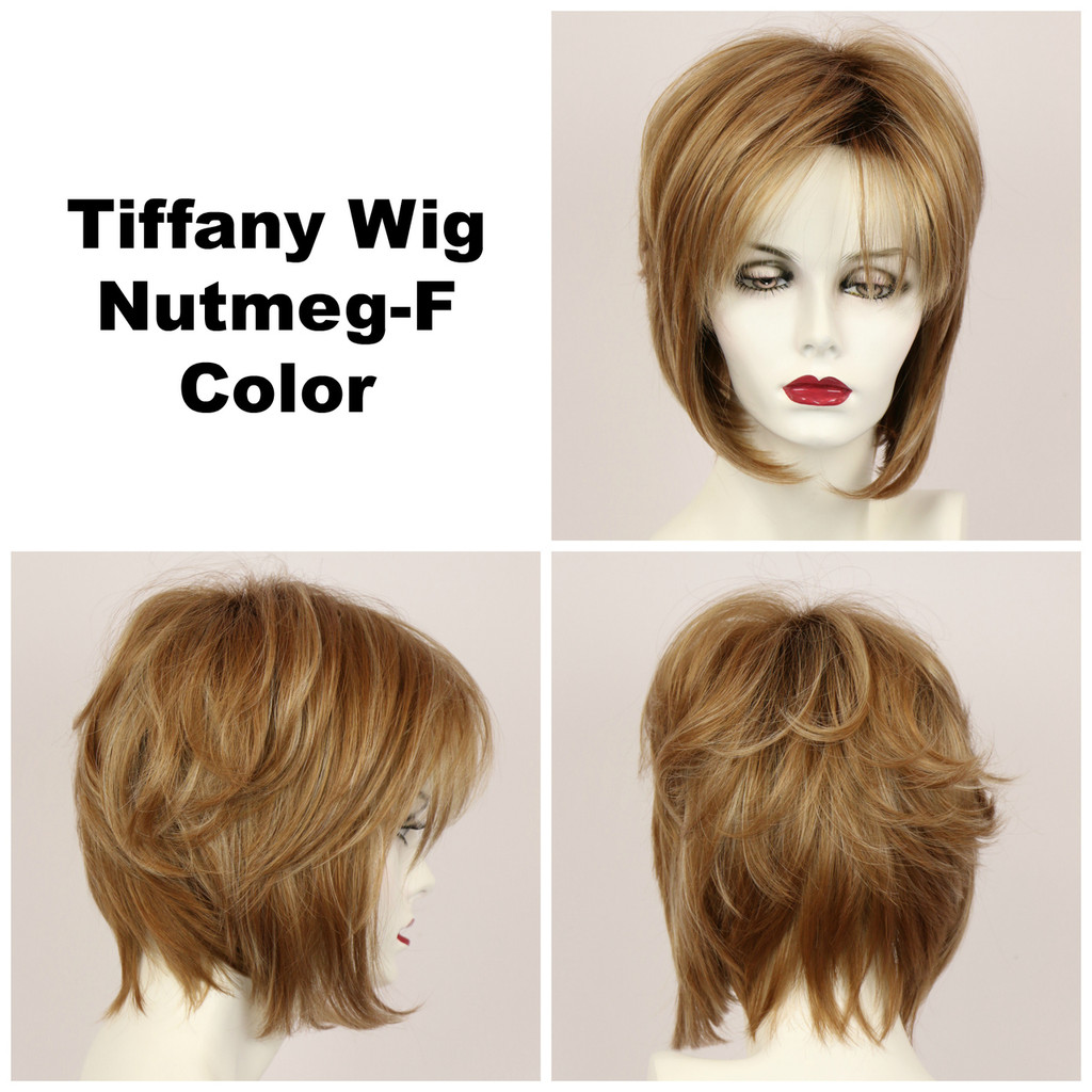Nutmeg-F / Tiffany w/ Roots / Medium Wig