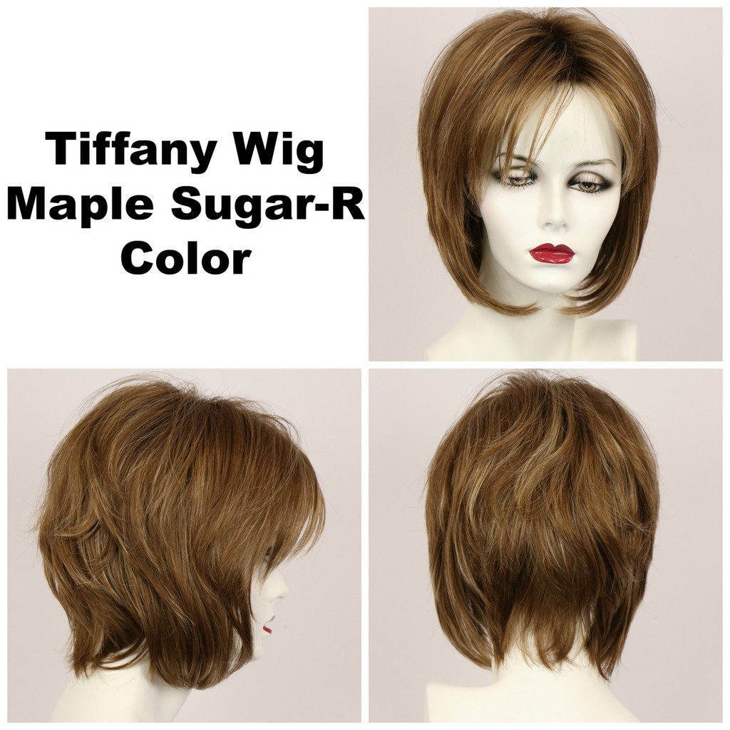 Maple Sugar-R / Tiffany w/ Roots / Medium Wig