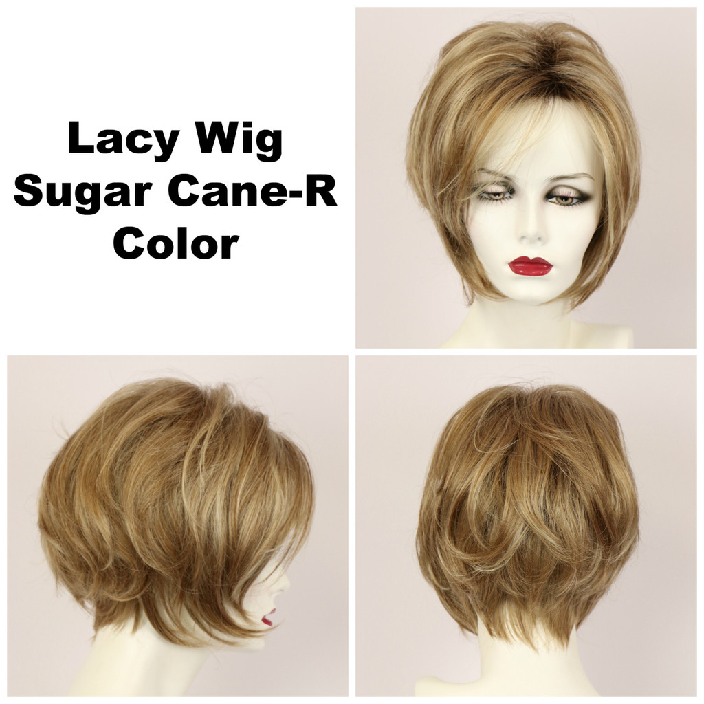 Lacy w/ Roots (medium wig)